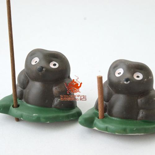 Благовоние Сладкий аромат ладана и сто почты вилка вилка ароматные благовония керамические маленький черный медведь сладкие зерна Из керамики Для дома, Разные