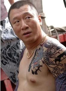 十大热门纹身贴纸男龙排行榜