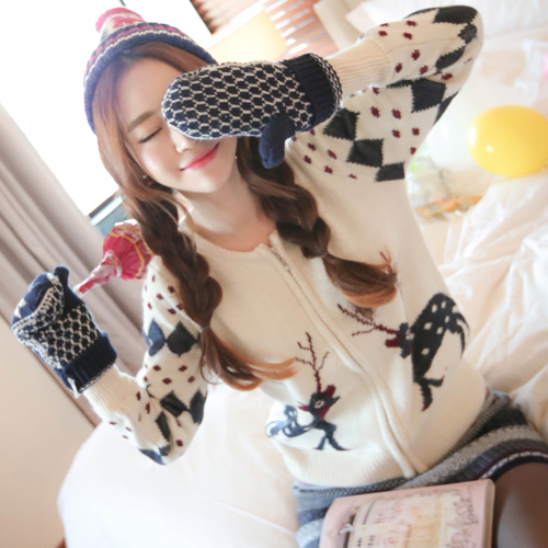 2014春装韩版安哥拉山羊