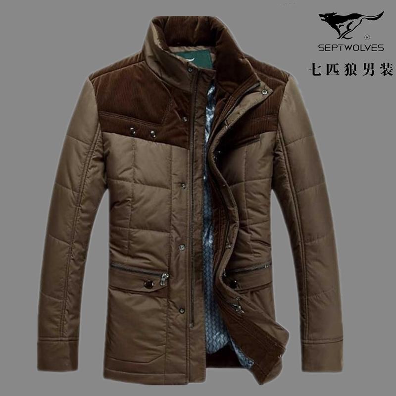 Куртка The septwolves 1321 Шёлковое волокно Разные натуральные волокна Молния Средней длины (длина одежды равна длине рукава+-3 см) Облегающий покрой