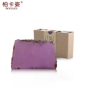 Handmade soap 100g Bai Kazi lavender essential oil facial SOAP oil facial balance water desalination anti-acne