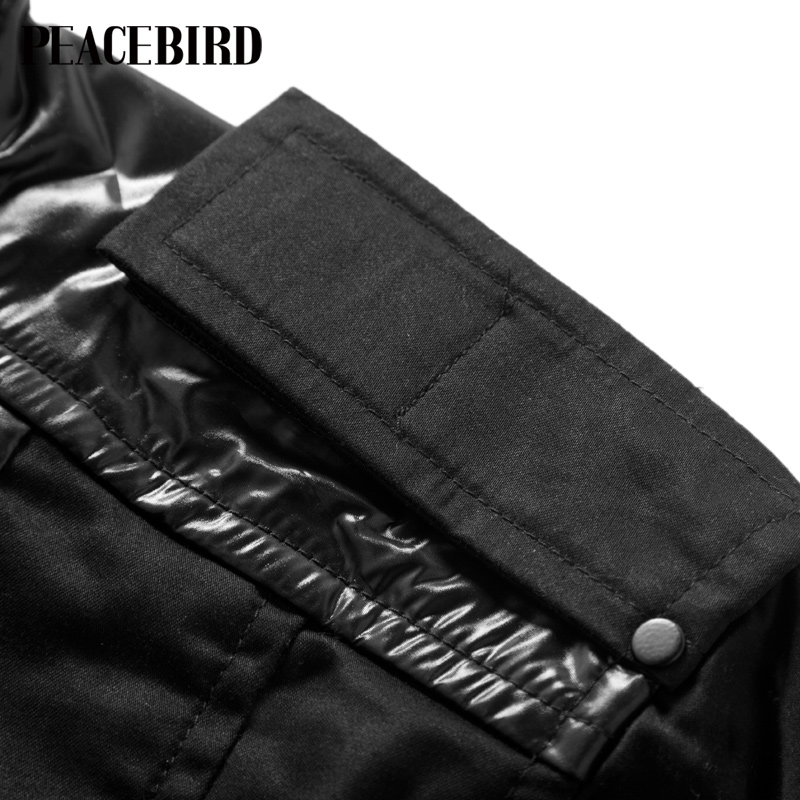 Куртка PEACEBIRD 80512126011 2013 Хлопок Воротник-стойка