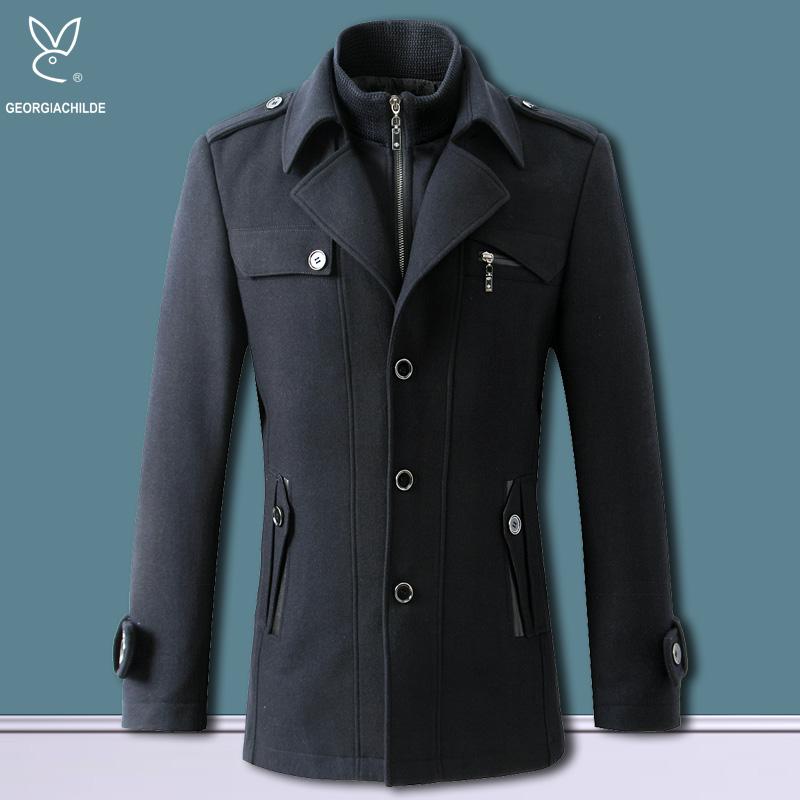 Пальто мужское George son 83008