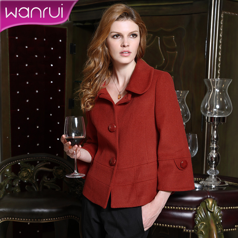 Core women's 2013 spring new product female Lady plus size Barret coat short coat female thick warm