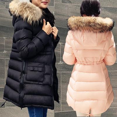 孕妇棉衣外套冬季2016新款棉袄女大码棉服中长款加厚韩版宽松冬装