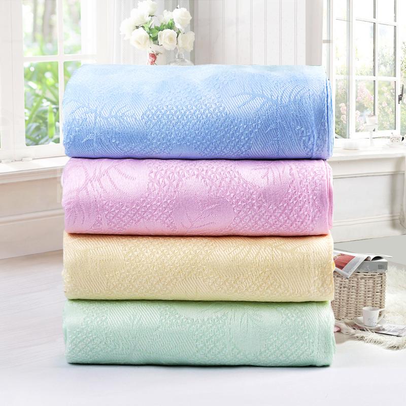 竹纤维毛巾被