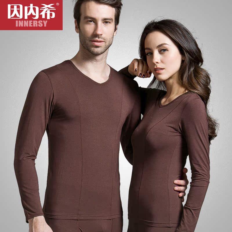 Комплект нижней одежды Innersy Для молодых мужчин ||property2048150|| Длинный рукав Длинные брюки % Модифицированное вискозное волокно % Для молодых мужчин