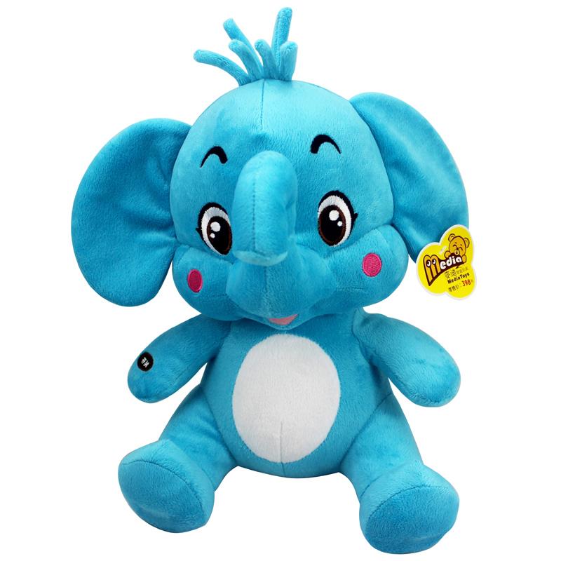 2013新品麦迪熊麦蓝蓝可对话智能早教学舌毛绒娃娃会话公仔小象