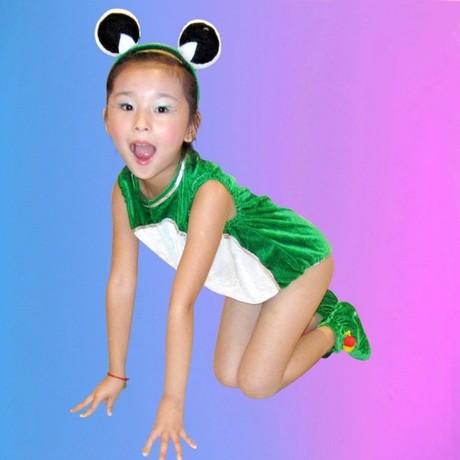 小青蛙找妈妈服装_少儿话剧小蝌蚪找妈妈舞蹈服幼儿小青蛙演出