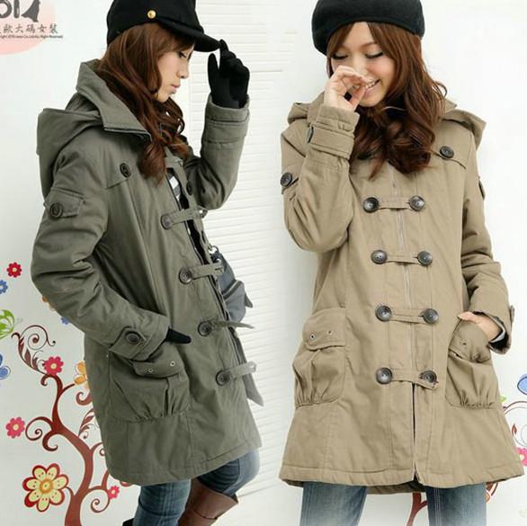 Женская утепленная куртка Спайк скидки плюс жира супер размер платья весна Кинг одежда пальто хлопка тонкий новый тепловой хлопок жира m