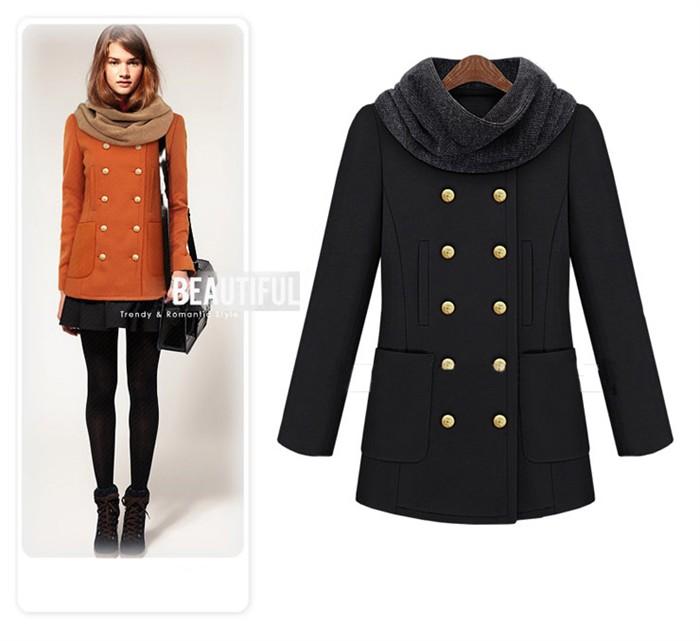 женское пальто 2013 Весна 2013 Средней длины (65 см <длины одежды ≤ 80 см) Длинный рукав Классический рукав