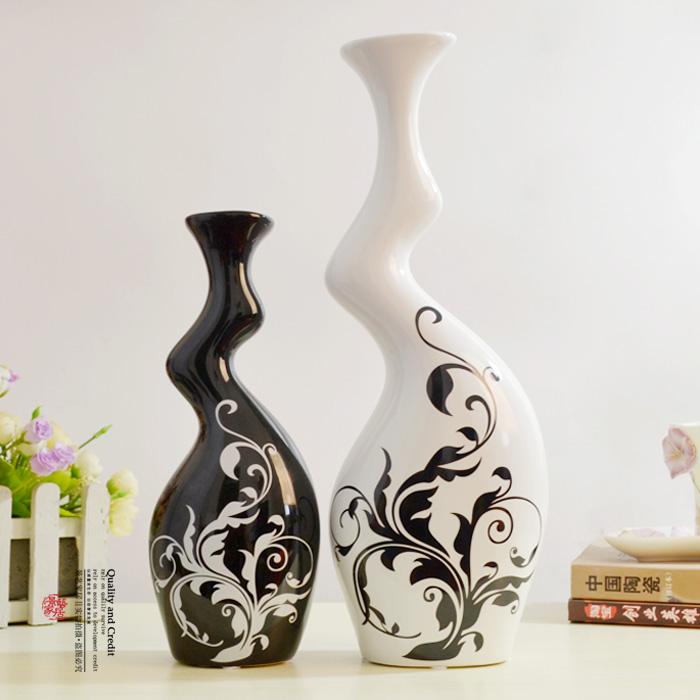 新品上市!时尚家居装饰品个性陶瓷工艺品/抽象摆件异型情侣花瓶