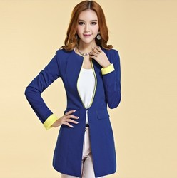 Korean style slim suit jacket