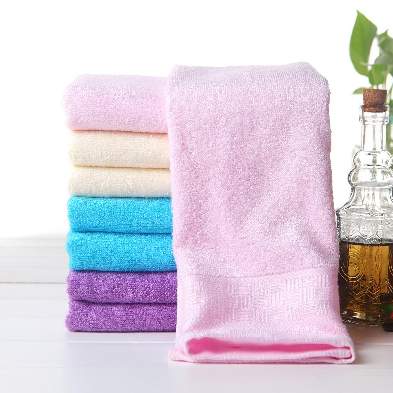 中国结毛巾 竹浆纤维高档加厚方巾小毛巾童巾 吸水柔软美容PD5148