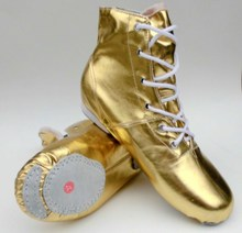 Sir Manufacturer self locking gold silver boots modern dance Jazz shoes Sir Stage boots The performance shoes