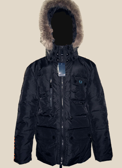 Пуховик мужской Le Shushang 4004 FRED PERRY Down Jacket