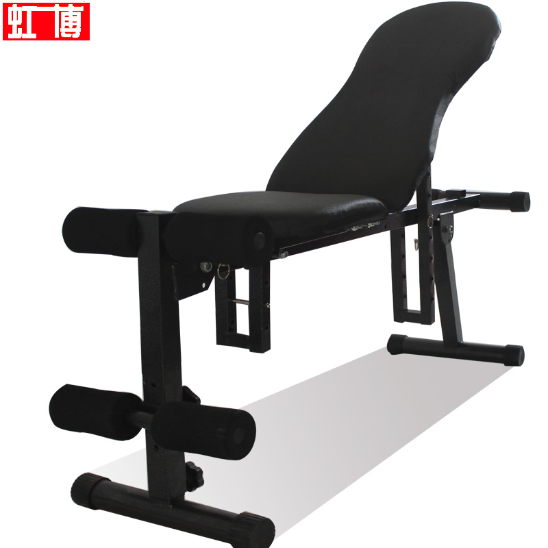 Hong Bo dumbbell bench fitness equipment household multifunctional back panel crunches a genuine your abdominal muscles exercise Chair