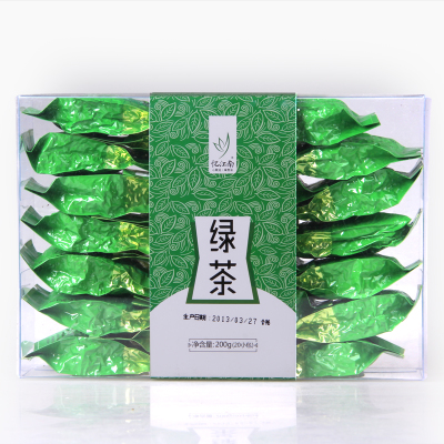 Restricted area package mail Yi jiangnan tea green tea level of green tea liquor 10 g * 20 packets plastic boxes