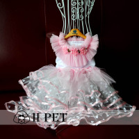 IIPET Pet necklace Teddy the bimbo America Chihuahua dog cat dog collar necklace pearl necklace jewelry