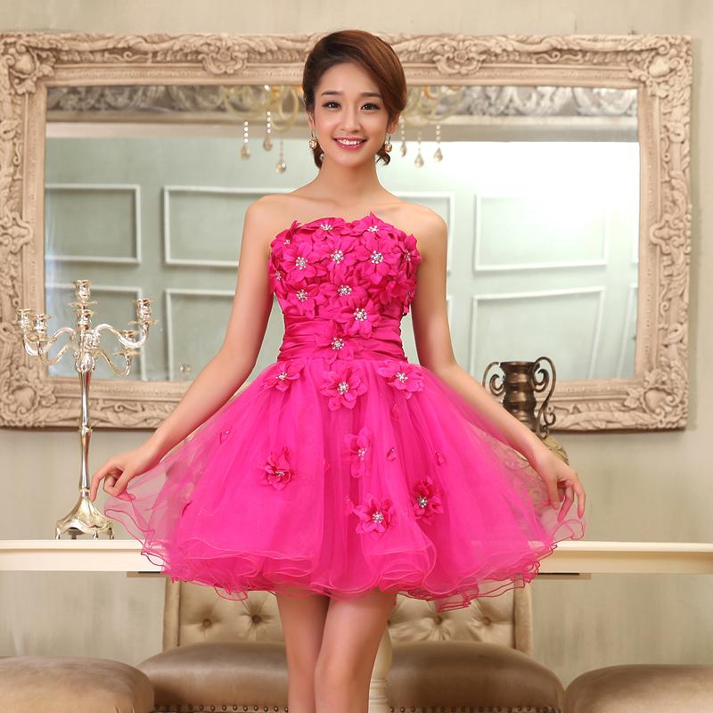 цветные шифоновые вечерние платья