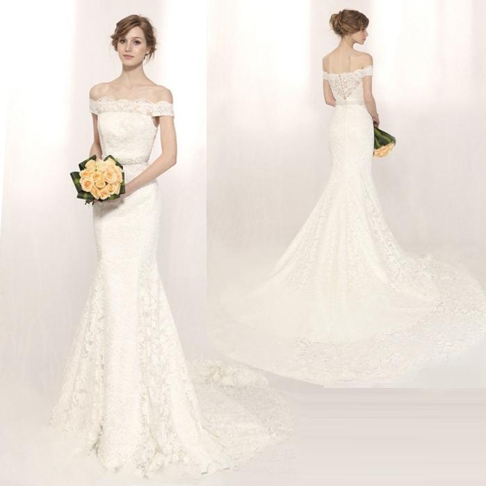 Свадебное  в строгом стиле