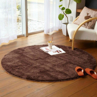 Washable padded 4.5 cm round computer Chair pad cushion coffee table living room bedroom bedside rugs