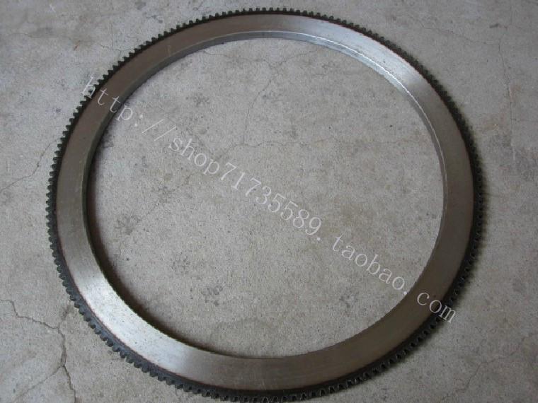 Маховое колесо Утолщенный changchai zs1100/1105 одноцилиндровый дизельный двигатель электрический стартер кольцо передач зуб маховик зубчатый 165