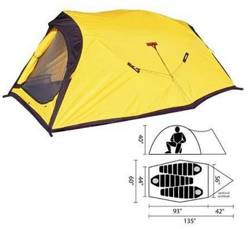 Палатки кемпинговые, горные Black Diamond BN/baea0bfa Fitzroy Person Tent Black Diamond