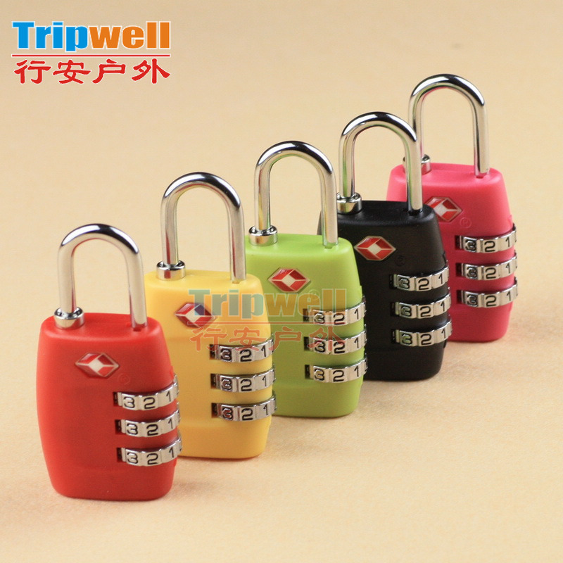 Just customs lock TSA combination lock travel alarm-luggage trolley luggage lock padlock 335 50g