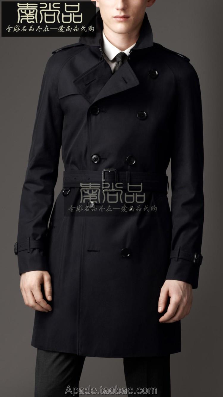 burberry/巴寶莉 歐美代購 男款風衣中長款外套37615691圖片