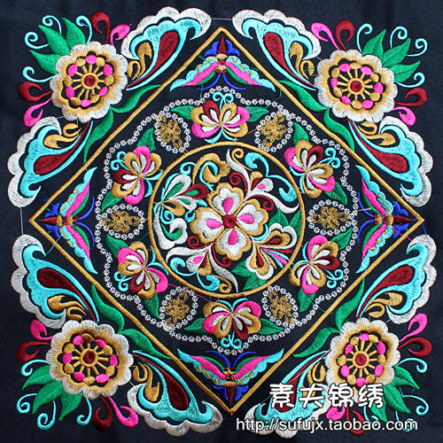 27 27cm Special Home Accessories Embroidery Appliqu Embroidered