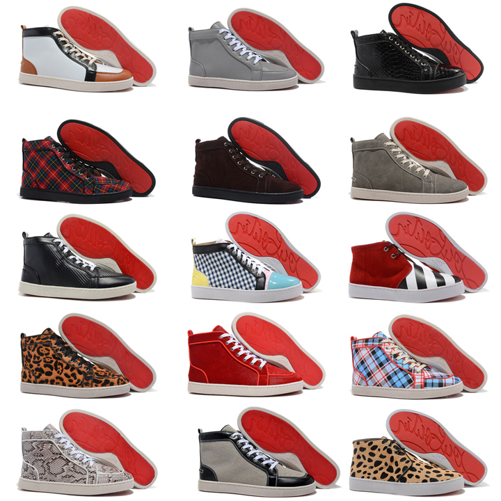 лабутены ботинки фото