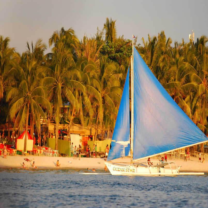 """菲律宾长滩岛旅游""""菲长划算""""长滩岛马尼拉6日游"""