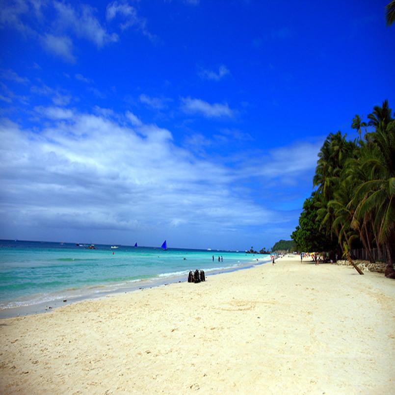 长滩岛6月杭州到长滩岛旅游长滩岛椰风5晚6日游