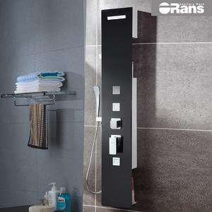 欧路莎卫浴 淋浴花洒套装 瀑布花洒组合 淋浴柱淋浴屏G103