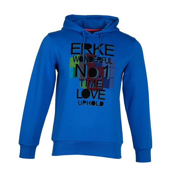 erke / Erke male jacket winter hedging hooded men casual sportswear thick sweater 1121331436
