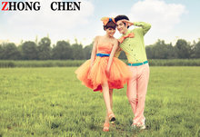 Special offer latest theme wedding couples are new studio theme clothing han edition photo studio sweethearts outfit