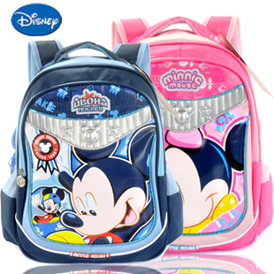 Authentic elementary school students cartoon Disney schoolbags children backpack bag girls and boys Mickey Mouse school bags