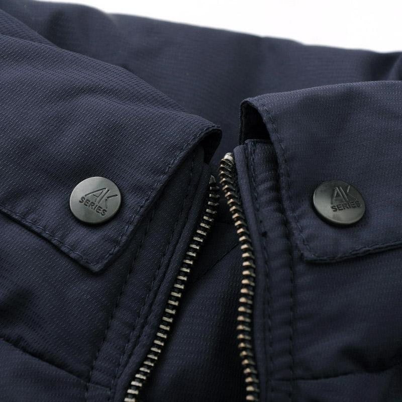 Куртка AKseries 11d211027 AK 2012 Шёлковое волокно Нейлон Молния Короткая (до пояса и выше) Прямой покрой
