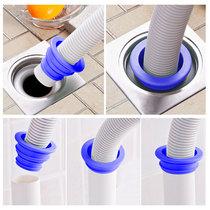 下水道防臭硅胶密封圈洗衣机下水管地漏接头排水管内芯防虫盖塞子