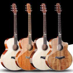 单板吉他40寸41寸初学者木吉他新手入门民谣电箱吉他