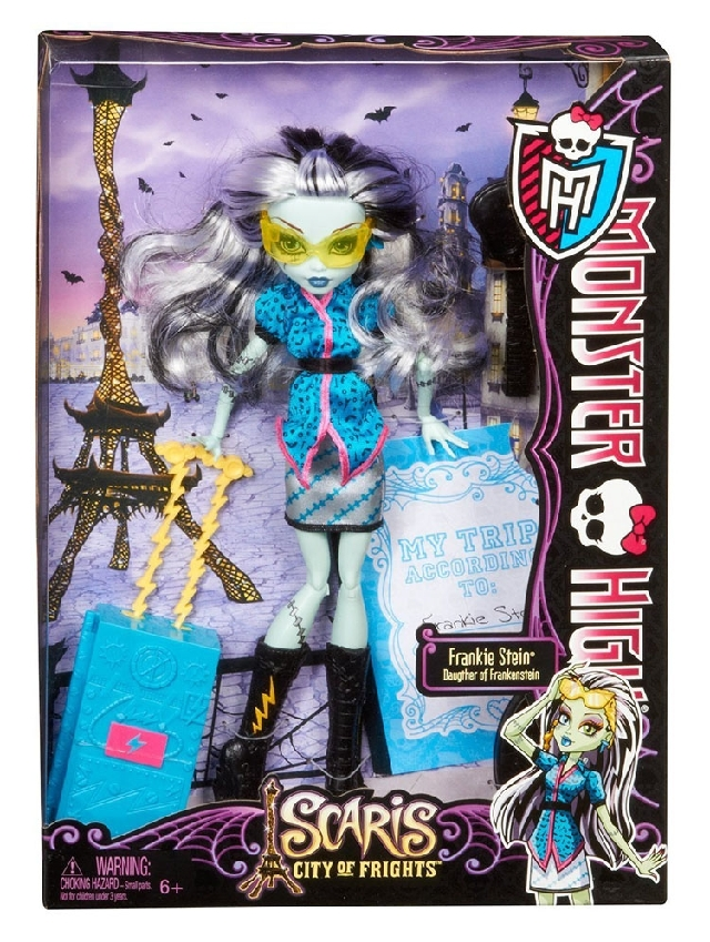 кукла Monster high  Y0376 Frankie