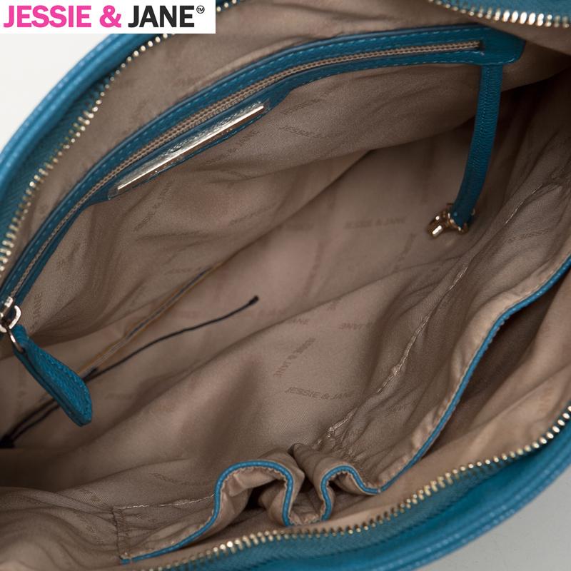 Сумка Jessie & jane JJ11SBD093 JessieJane Женщины Сумка через плечо Однотонный цвет Искусственная кожа