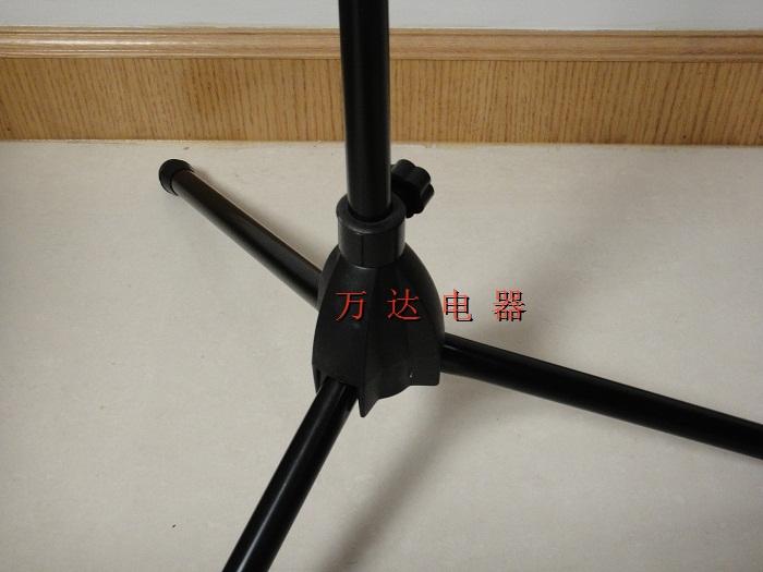 Подставка для микрофона Высокое качество напольные держатель микрофона штатив Пол микрофон держатель микрофона FS-001 (черный)