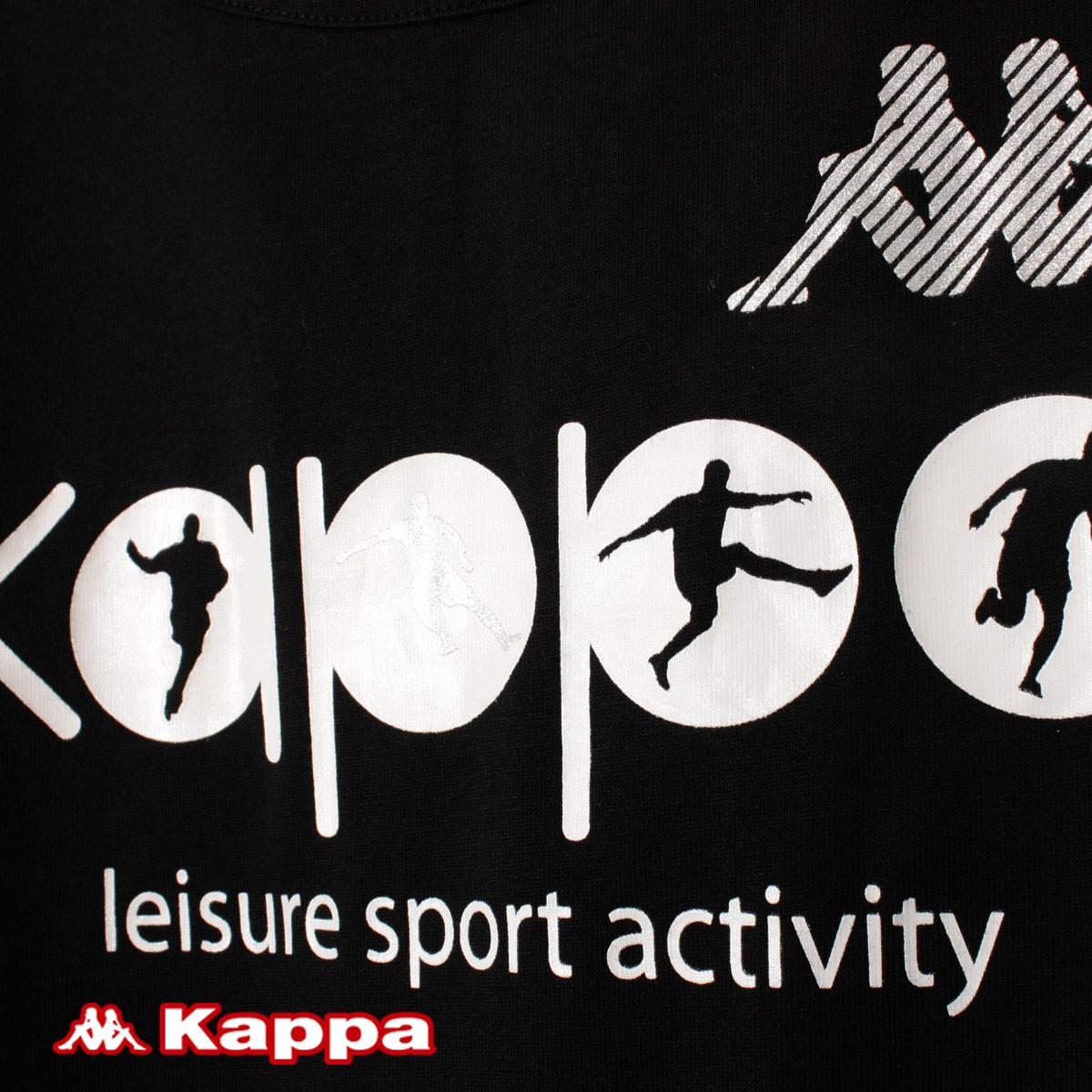 Спортивная футболка KAPPA k2102td548/990 .. K2102TD548-990 Воротник-стойка Короткие рукава ( ≧35cm )
