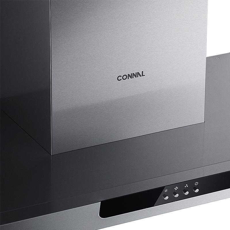 Вытяжка кухонная Connal CXW-200-TD08A Европейский стиль Из нержавеющей стали Верхнее всасывание 15-17 кубометров/мин