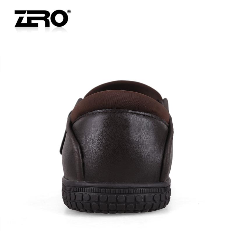 Демисезонные ботинки Zero 9613/2 F9613 Для отдыха Кожа Круглый носок Без шнуровки Зима