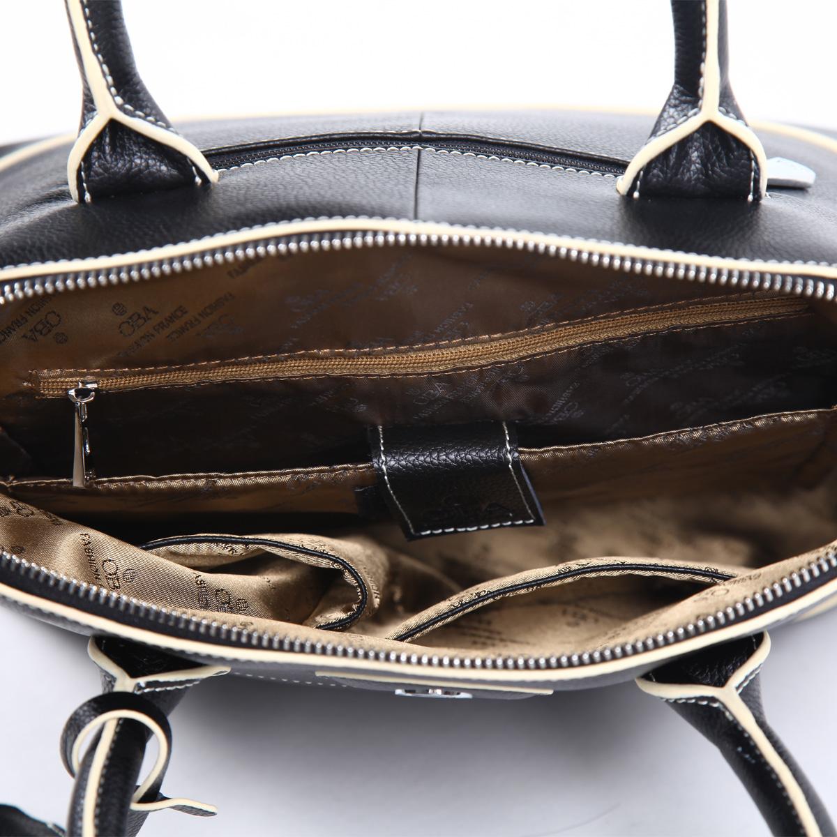 Сумка Oba 2220 2013 OL Девушки Женская сумка Однотонный цвет Кожа быка