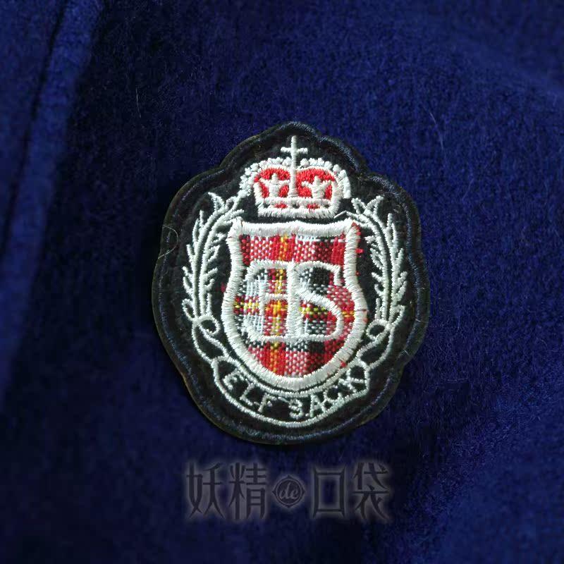 женское пальто Elf sack 1221130 Осень 2012 Обычный размер (50 см <длина одежды ≤ 65 см) Elf sack/fairy Pocket Длинный рукав Классический рукав