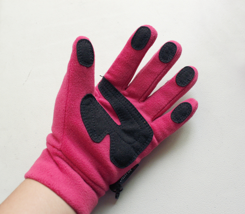 Перчатки Внешней торговли theface Открытый скольжения флис северо лицом теплые перчатки для мужчин и женщин